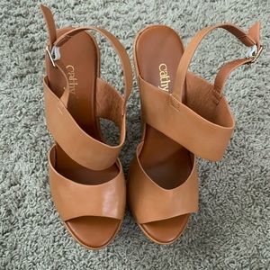 Cathy Jean brown wedges!
